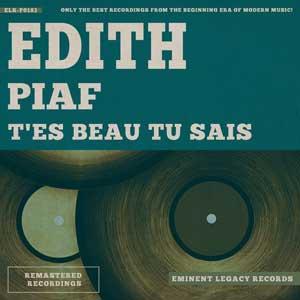 Edith Piaf - T'es beau tu sais instrumental